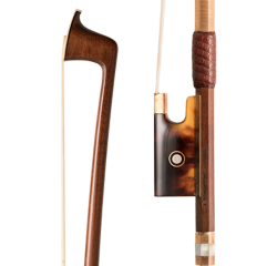Richaume Violin Bow Gold Wrap Red Grip Teaser